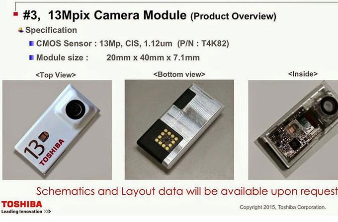 Toshiba, Project Ara için ürettiği kamera modüllerini gösterdi