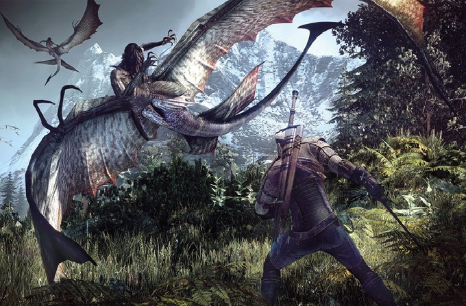 The Witcher 3: Wild Hunt PS4'te 50 GB yer kaplayacak
