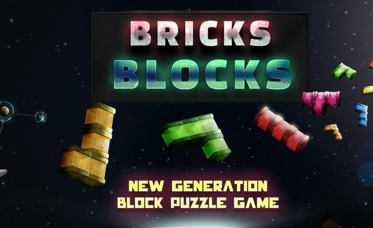 Bricks Blocks, Google Play ve Appstore'daki yerini aldı