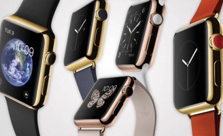 Altın Apple Watch için Apple mağazalarında güvenlik bulundurulacak