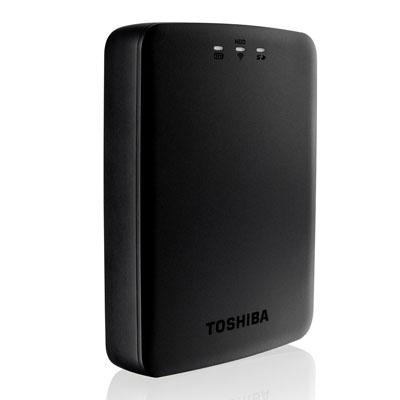 Toshiba Canvio Aerocast kablosuz HDD ile kablosuz depolama keyfi