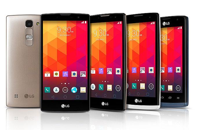 LG'den 4 yeni akıllı telefon