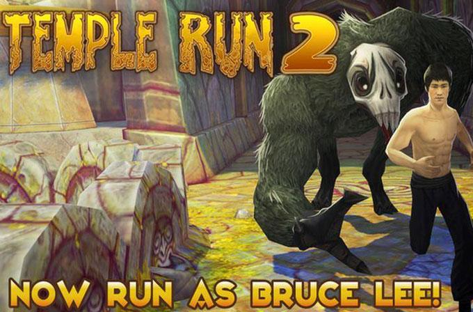 Temple Run 2'ye Bruce Lee geldi