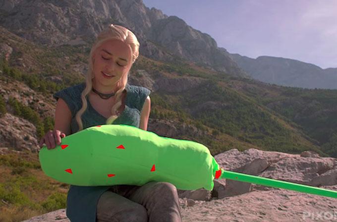 Game of Thrones'un ejderhaları nasıl yaratılıyor? (VİDEO)