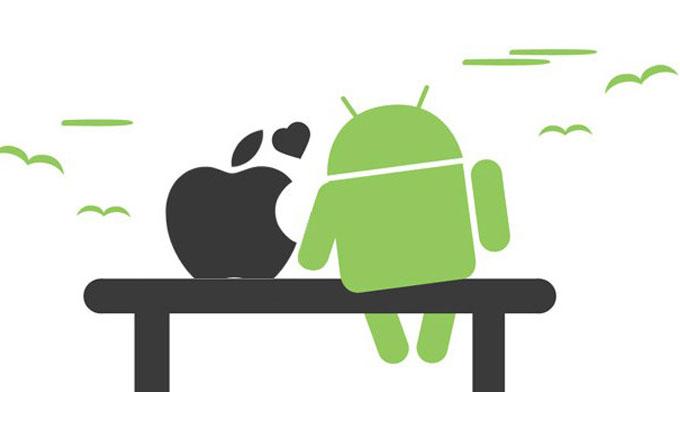 Akıllı telefon dünyasını yüzde 96 ile Apple ve Google domine ediyor