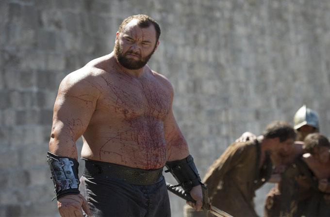 Game of Thrones'un The Mountain'i artık Viking tarihinin en güçlü adamı