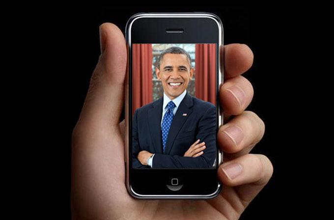 Barack Obama herkesten önce bir iPhone aşığıymış