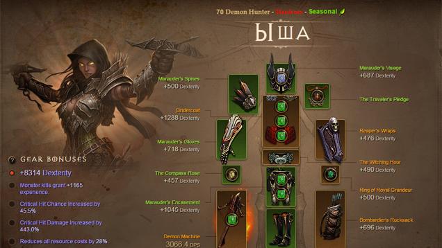 Diablo 3'te ölmeden 1000 Paragon level'a ulaştı