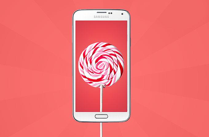 Samsung Galaxy S5'e Android Lollipop 5.0 güncellemesi geldi