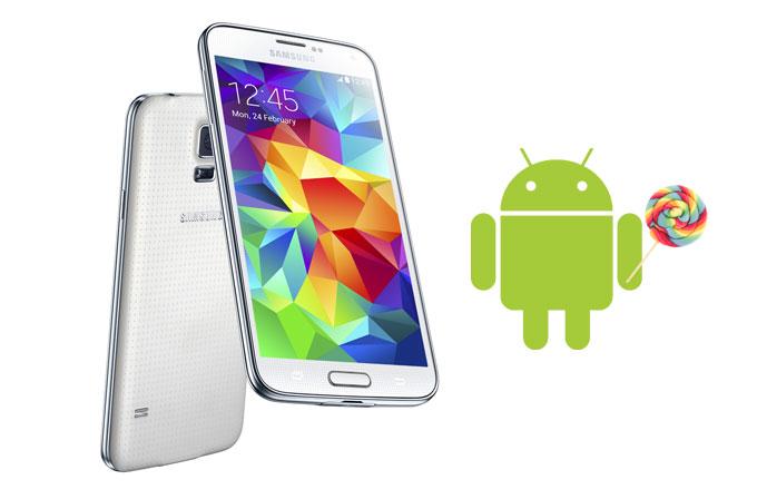 Exynos'lu Samsung Galaxy S5'lere Android Lollipop güncellemesi sunulmaya başlandı!