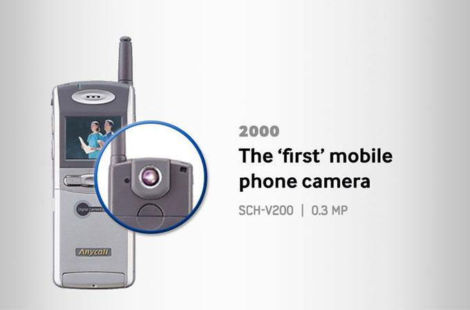 İnfografik: Samsung akıllı telefonların kamera evrimi