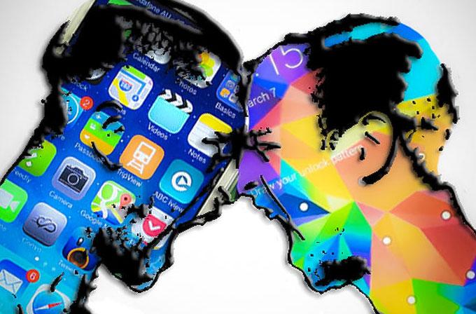 Samsung, ABD'de ilk kez Apple'dan daha itibarlı