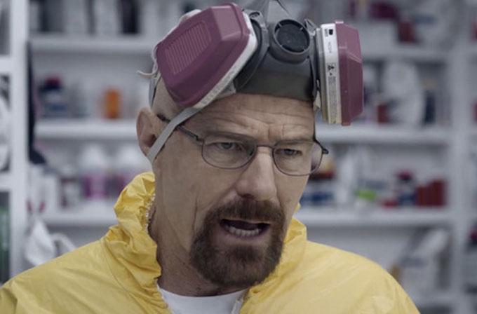 Walter White, Super Bowl reklamında eczacı oldu