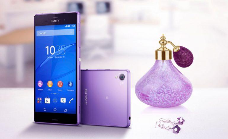 Sony Xperia Z3'ün mor renk seçeneği Türkiye'ye geldi