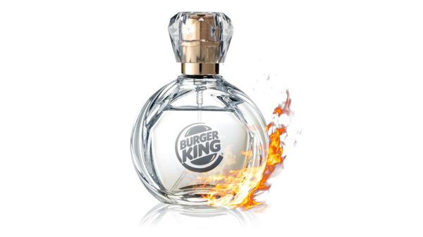 Burger King'den Whooper kokulu parfüm geliyor