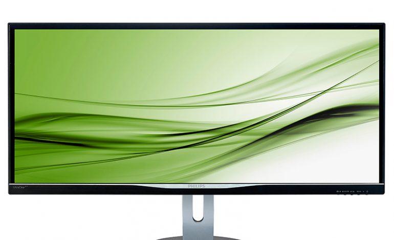 Yeni Philips 34 inçlik QHD ekran ile daha fazla yaratıcılık için daha fazla alan
