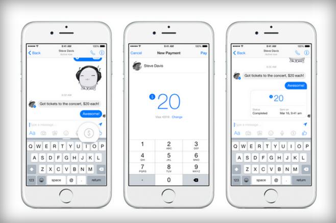 Facebook Messenger'la para gönderme dönemi
