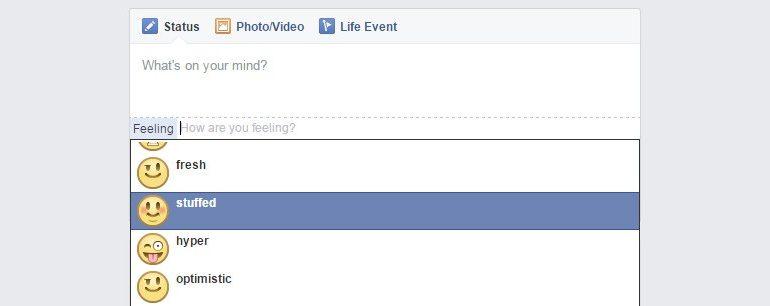 """Facebook """"şişman hissediyor"""" ifadesini kaldırdı"""