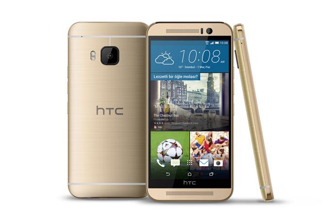 HTC'nin yeni amiral gemisi 'HTC One M9' Türkiye'de!