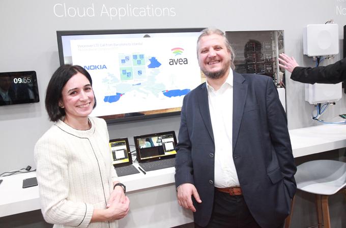 Avea ve Nokia Networks, Barselona'dan İstanbul'a bağlandı