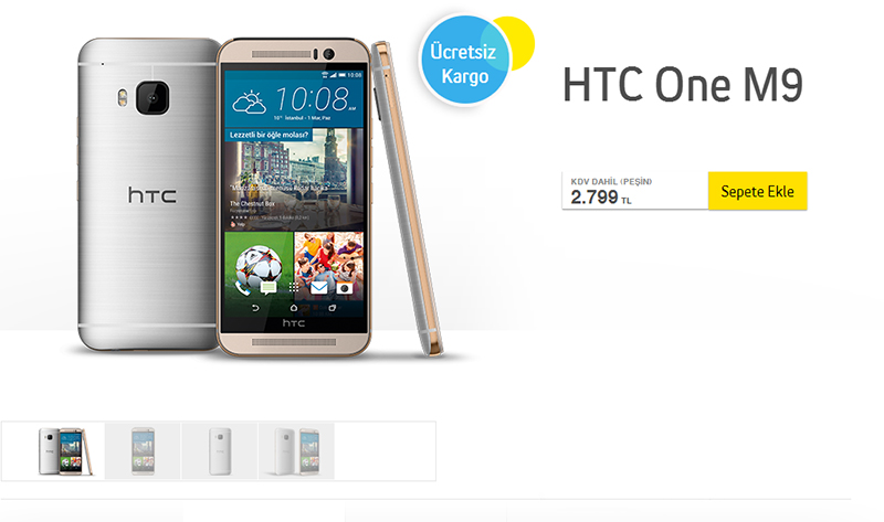 turkcell htc one m9