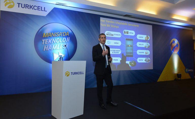 Turkcell'den Manisa'ya son 5 yılda  60 milyon TL yatırım