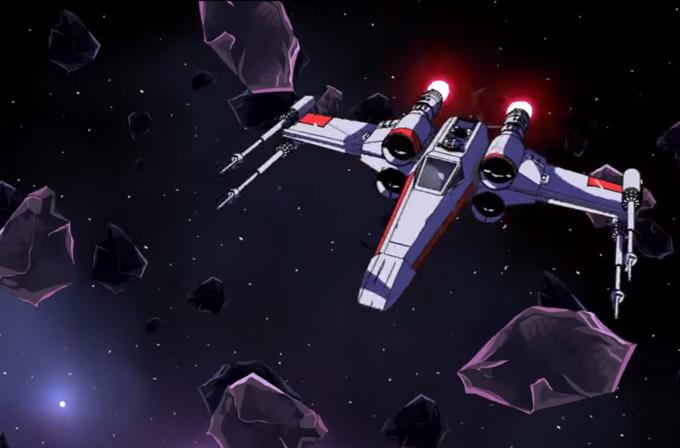 Star Wars hayranından 4 yılda hazırlanmış bir Star Wars animesi
