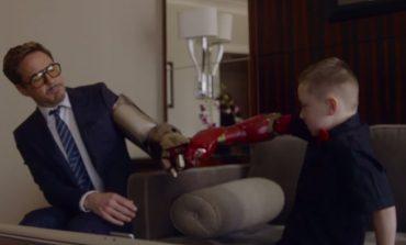 Robert Downey Jr.'dan 7 yaşındaki çocuğa Iron Man protez kol hediyesi
