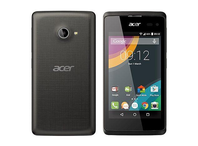 Acer'ın Android Lollipop'lu orta segmenti; Acer Liquid Z220