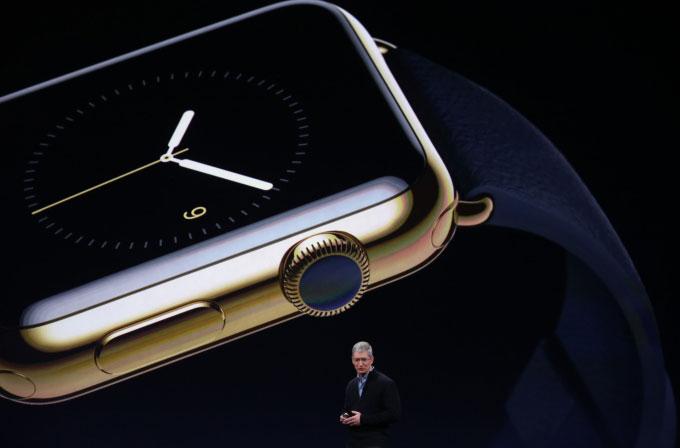 İşte Apple'ın 10 bin dolarlık saati!