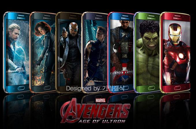 Galaxy S6 Edge'in Avengers temalı modelleri gelebilir