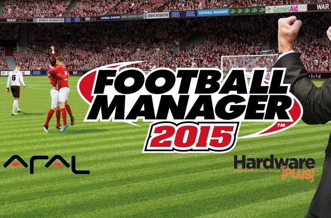 Aral ve Hardware Plus'tan iki okurumuza Football Manager 2015 oyunu hediye!