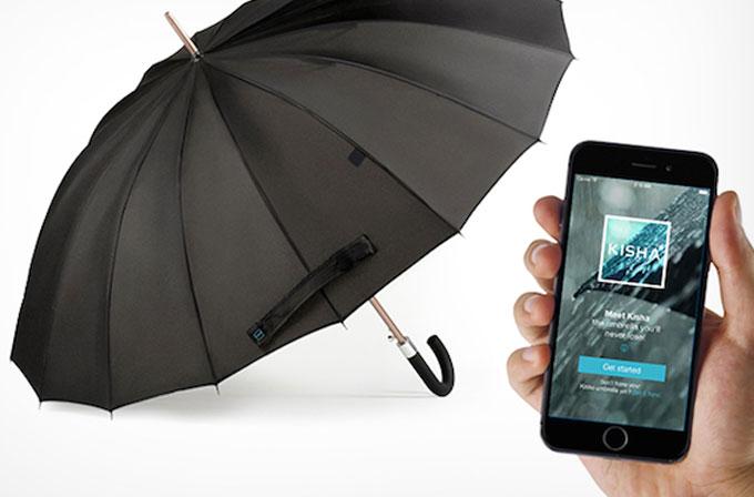 Akıllı şemsiye The Kisha ile tanışın
