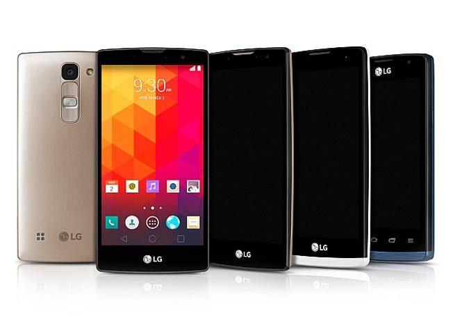 LG'den MWC 2015 için ilk orta seviye, LG Leon