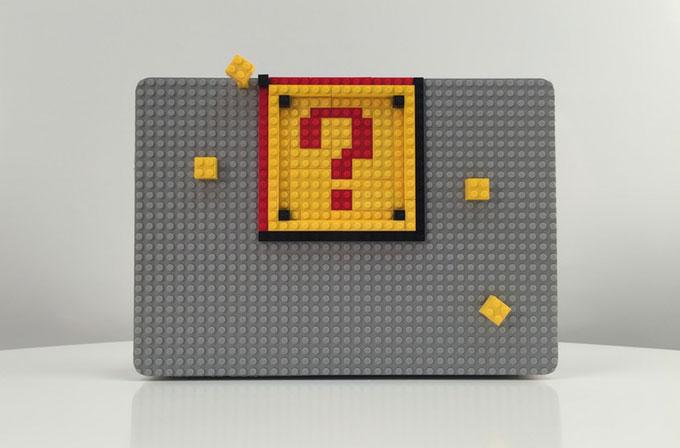 Bu MacBook kılıfı bilgisayarınızı LEGO'larla süslüyor