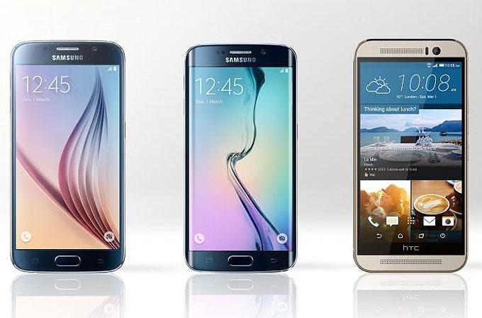 İlk izlenimlerimizle HTC One M9 ve Samsung Galaxy S6