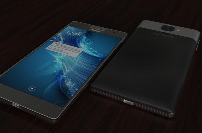 Android'li Nokia 1100 için etkileyici konsept tasarımlar
