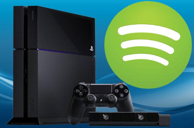 Spotify, bugün PS3 ve PS4'e geliyor