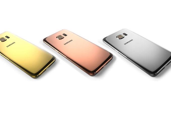 Samsung Galaxy S6'nın altın ve platin modelleri ön siparişe açılıyor