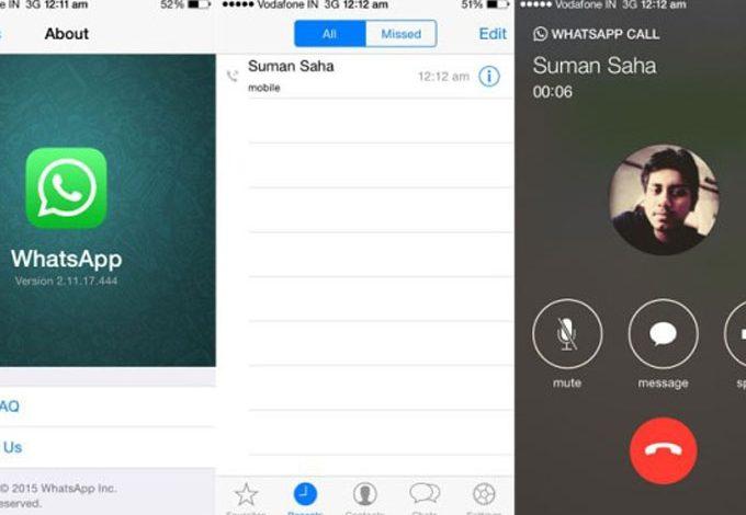WhatsApp'ın arama özelliği iOS'a da geliyor