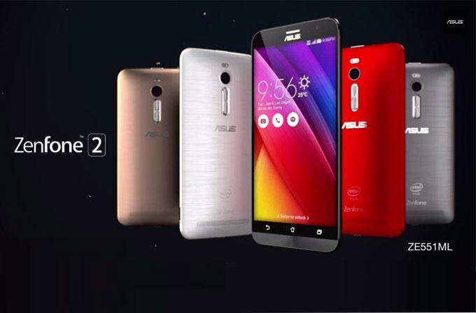 ASUS Zenfone 2 için yeni tanıtım videosu
