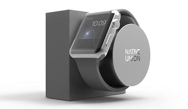 Apple Watch için şık ve kullanışlı şarj istasyonu
