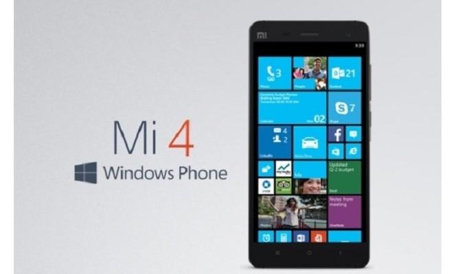 Windows 10 ile çalışan Xiaomi Mi4'ten ilk video geldi
