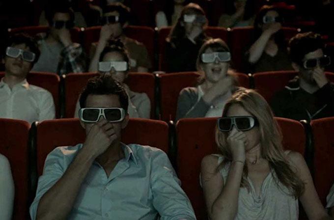'4D' filmler ile yağmur ve kar sinema salonuna geliyor