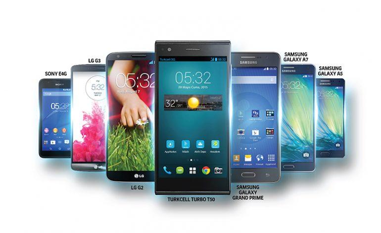4G'li akıllı telefon Turkcell'den alınır