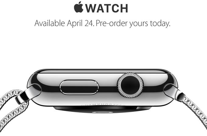 Apple Watch'ı görmek için mağazalara hücum ettiler (Video)