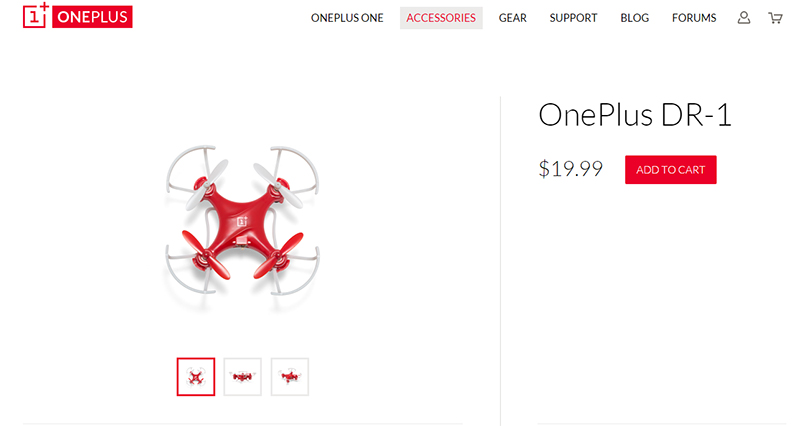 OnePlus drone