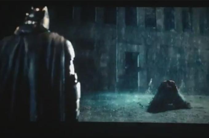 Batman v Superman: Dawn of Justice fragmanı sızdı