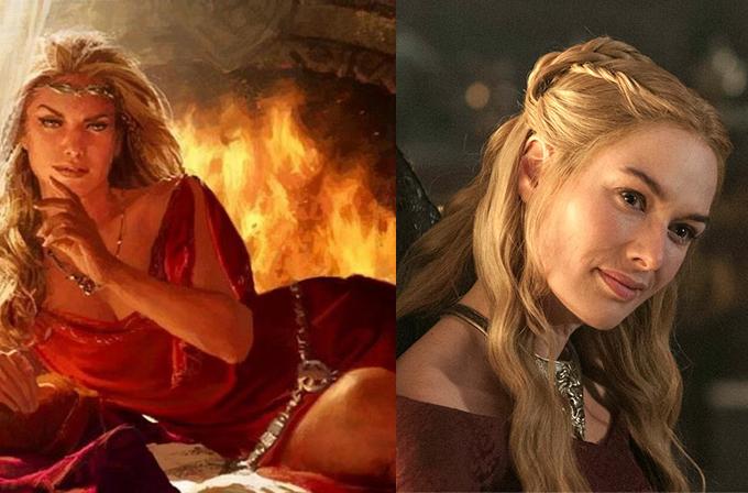Game of Thrones karakterleri kitapta nasıl gözüküyor?