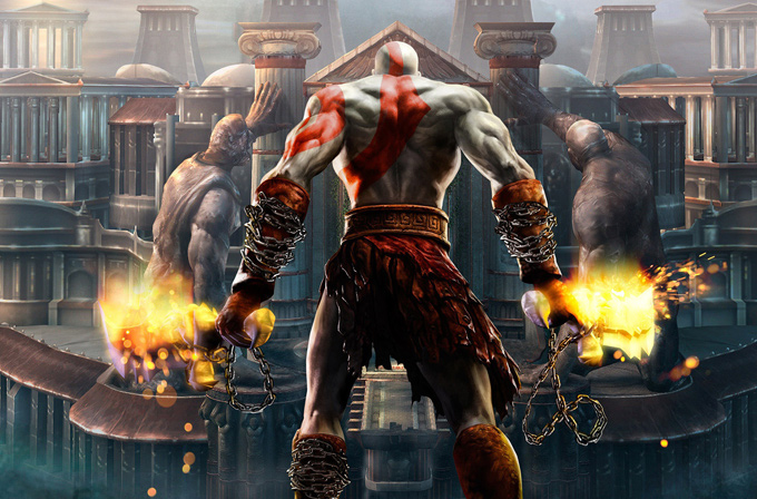God of War üçlemesini 4 saatte bitirdi